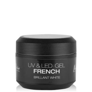 GEL UV & LED FRENCH BRILLANT WHITE 5ml